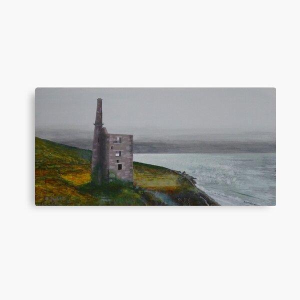 Cornish Mine Canvas Print