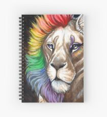 Queen Spiral Notebook