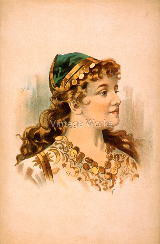 Portrait of a Blond Woman by Vintage Works
