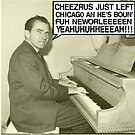 Richard Nixon sings Cheezrus Just Left Chicago by tommytidalwave