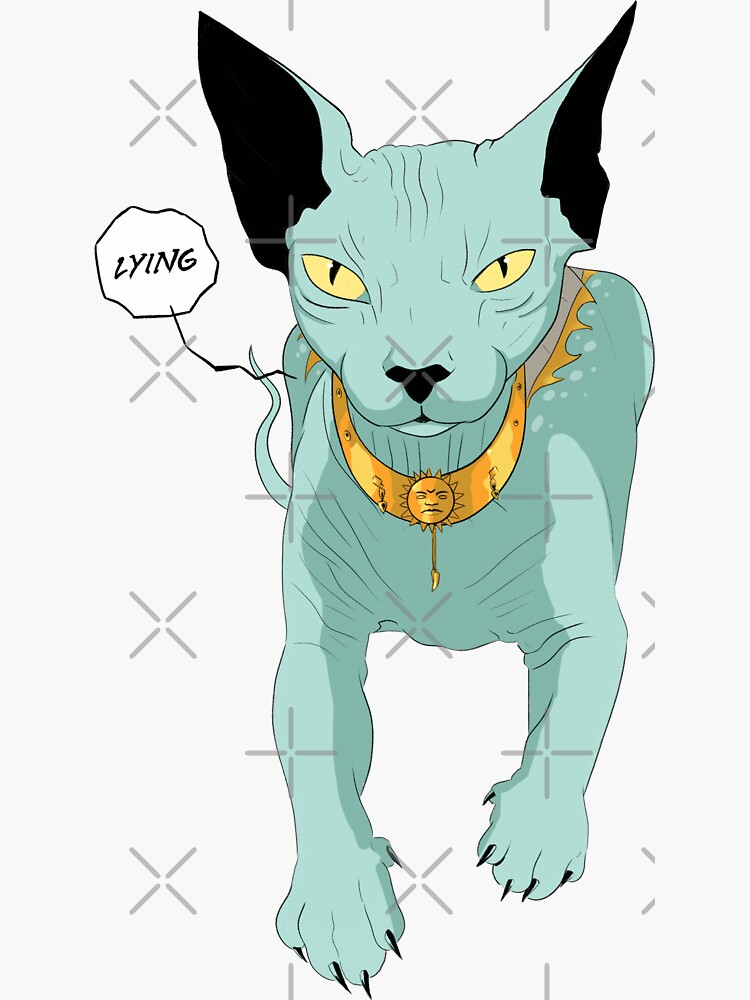 Lying Cat by ArteBE