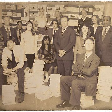 The Office - The Gang (Smaller) by GloriousWax