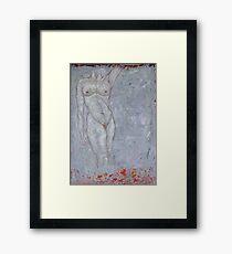 Flame Goddess Framed Print