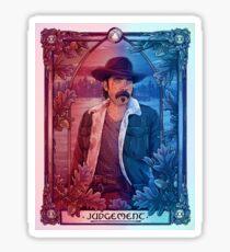 Doc   Judgement    Wynonna Earp Tarot Sticker