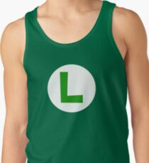 Super Mario Luigi Icon Tank Top
