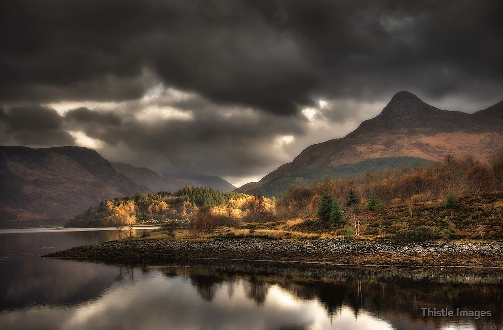 The Pap of Glencoe by Thistle Images