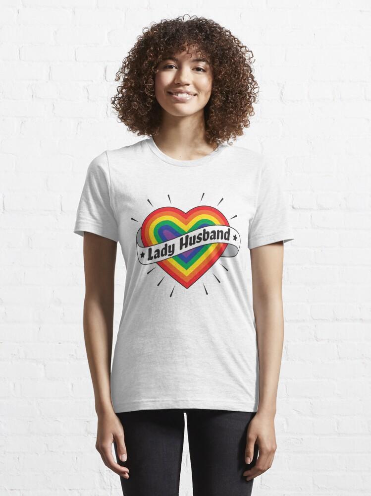 Alternative Ansicht von Lady Husband - LGBT Pride Month Gift Essential T-Shirt