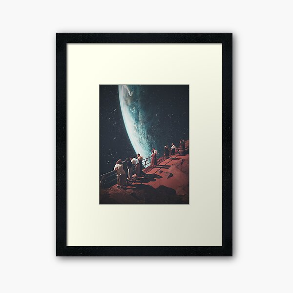 Missing the ones we Left Behind Framed Art Print