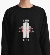 BTS&ARMY: Beyond The Scene (No Background) Lightweight Sweatshirt