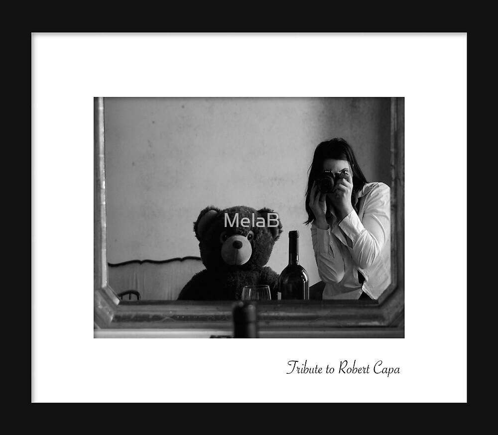 July - Robert Capa by MelaB