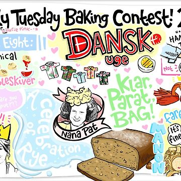 The Lovely Tuesday Baking Contest! Week eight: Danish Week! by lauriepink