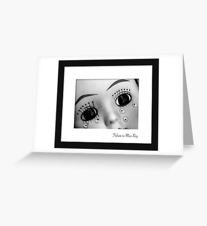 March - Man Ray Greeting Card