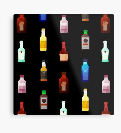 Mini bottles Metal Print