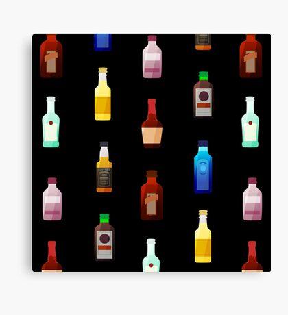 Mini bottles Canvas Print