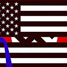 """Blue Lives Matter"" Dog Whistle by dru1138"