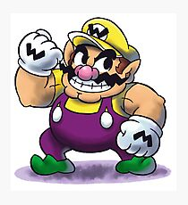 "Wario (Old Design) - [""MARIO & LUIGI RPG"" Style] Photographic Print"