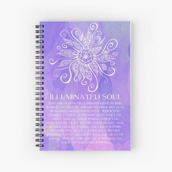 Illuminated Soul Spiral Notebook