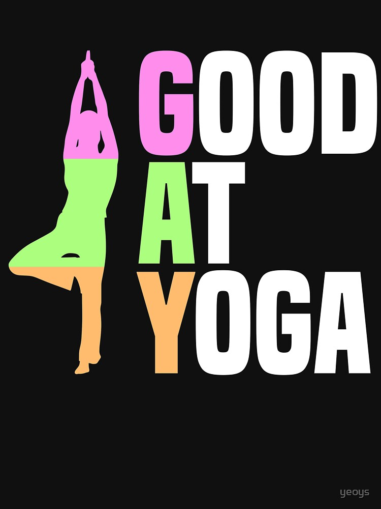 Good At Yoga Vriksasana Tree Pose - LGBT Pride Month Gift von yeoys