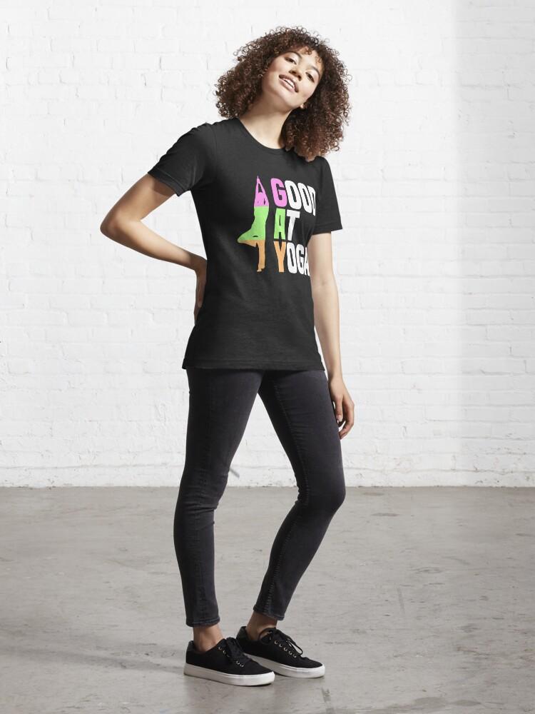 Alternative Ansicht von Good At Yoga Vriksasana Tree Pose - LGBT Pride Month Gift Essential T-Shirt