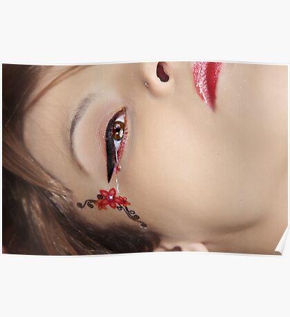 Close Up Lulu Poster