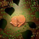 Cat Pumpkin by bleilaniarts