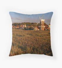 Cley, Norfolk Throw Pillow