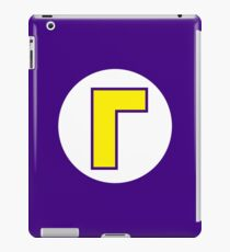 Super Mario Waluigi Icon iPad Case/Skin