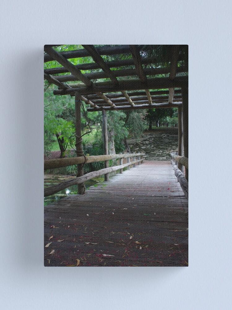 Alternate view of Wedding walkway Canvas Print