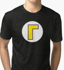 Super Mario Waluigi Icon Tri-blend T-Shirt