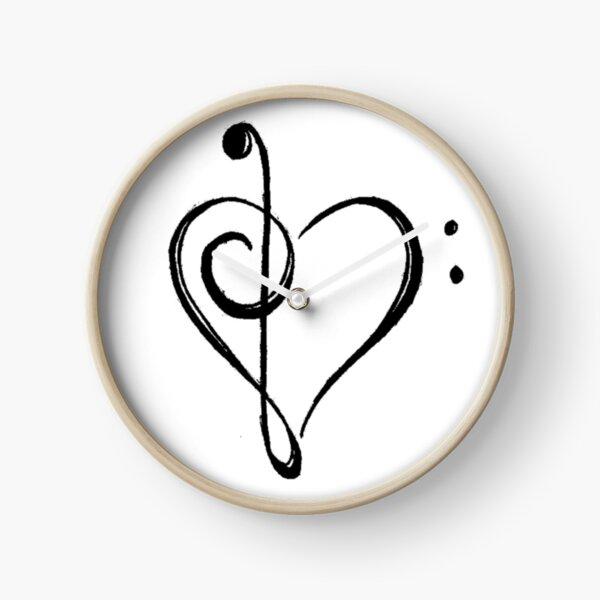 Music Love Clock