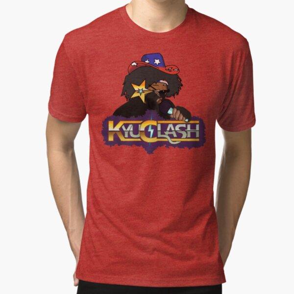 Kyu Clash MC Skatmaker Wink Tri-blend T-Shirt