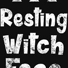 Resting Witch Face  by zombiemama
