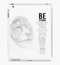 Be Strong - White iPad Case/Skin