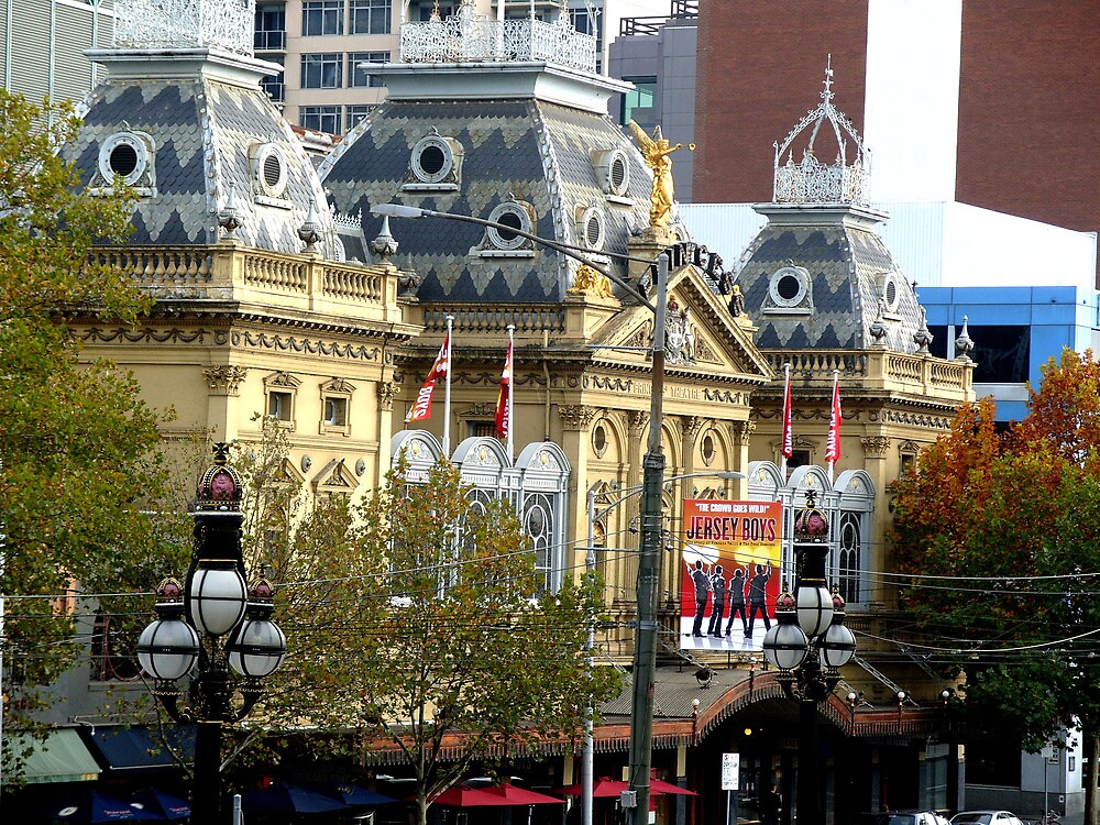 Her Majestys Theatre by Jaques