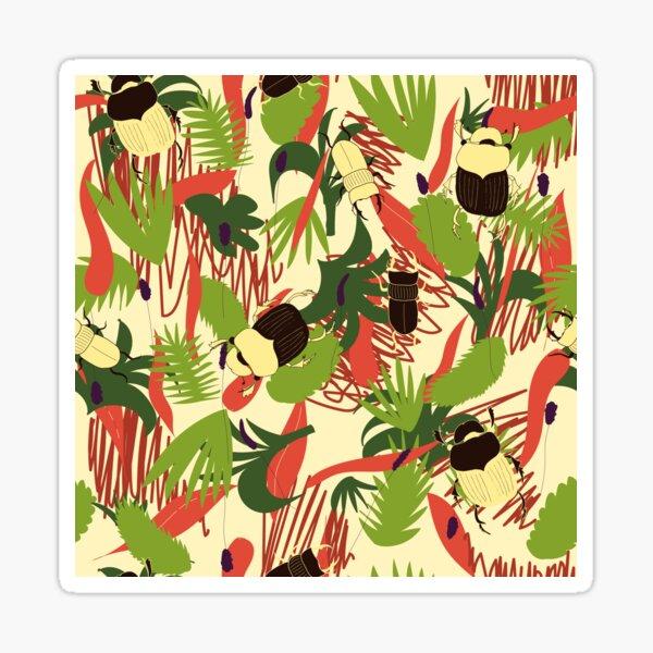 jungle chaos Sticker