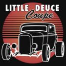 Little Deuce Coupe Sunset by Frank Schuster