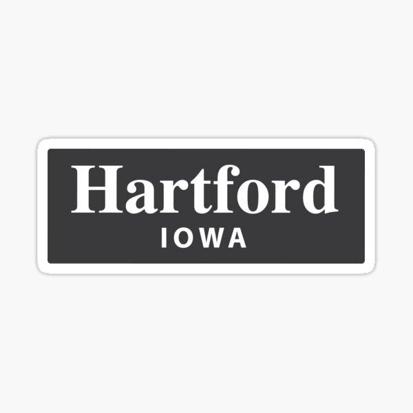 Hartford, Iowa Sticker