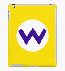 Super Mario Wario Icon iPad Case/Skin