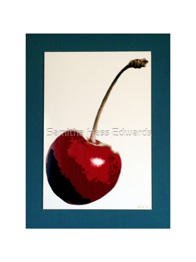 Cherry- Warhol by Samitha Hess Edwards