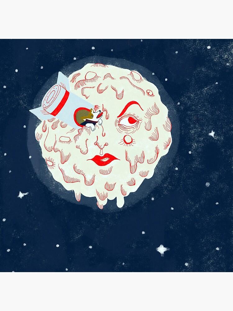 Moon landing by spoto