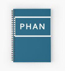 PHAN - (TRXYE inspired) Spiral Notebook