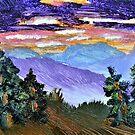 Washington State Sunset 2  by Warren  Thompson