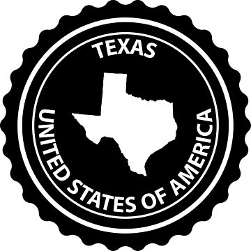 Texas rubber stamp by Danler