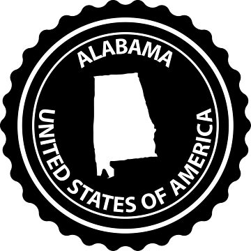 Alabama rubber stamp by Danler