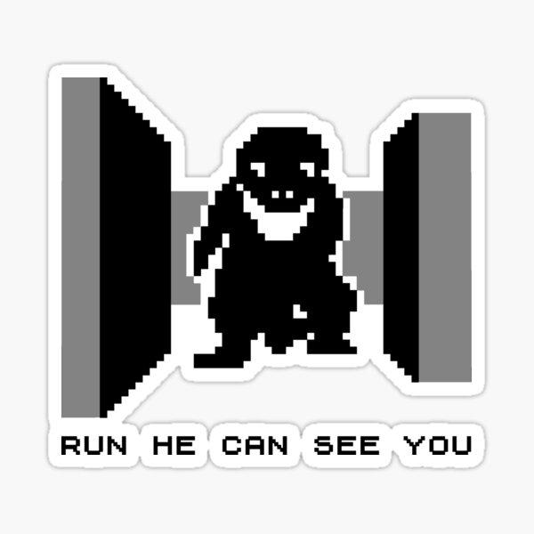 3D Monster Maze for ZX81 Sticker
