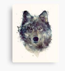 Lienzo metálico Lobo // Persevera