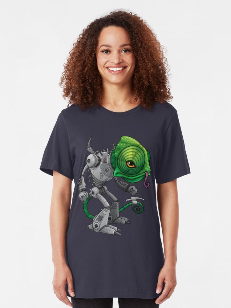 Alternate view of Chameleozoid Slim Fit T-Shirt