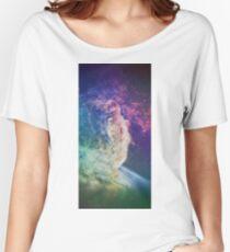 Astronaut dissolving through space Women's Relaxed Fit T-Shirt