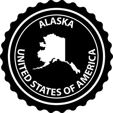 Alaska rubber stamp by Danler
