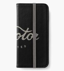 Motor L iPhone Wallet/Case/Skin